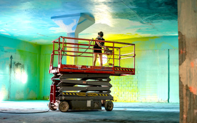 Artist Sofia Maldonado Transforms Herself  And Abandoned Puerto Rican Spaces