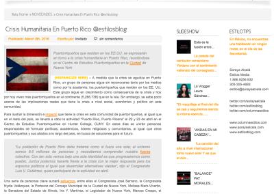 Estilos Blog